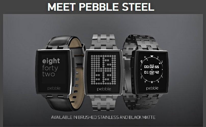 Pebble Steel www.gizmophiliacs.com
