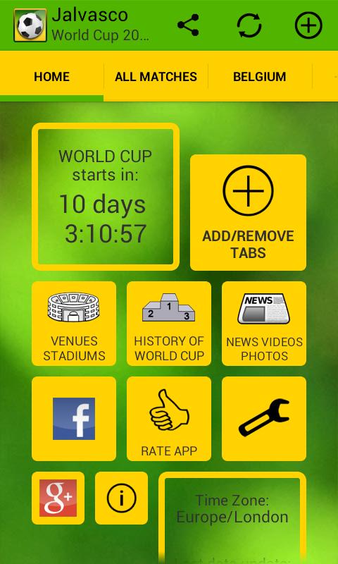 Jalvasco World Cup 2014 app - www.gizmophiliacs.com